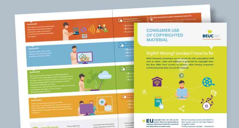 Edition - BEUC (The European Consumer Organisation) - Brochure sensibilisation 2016