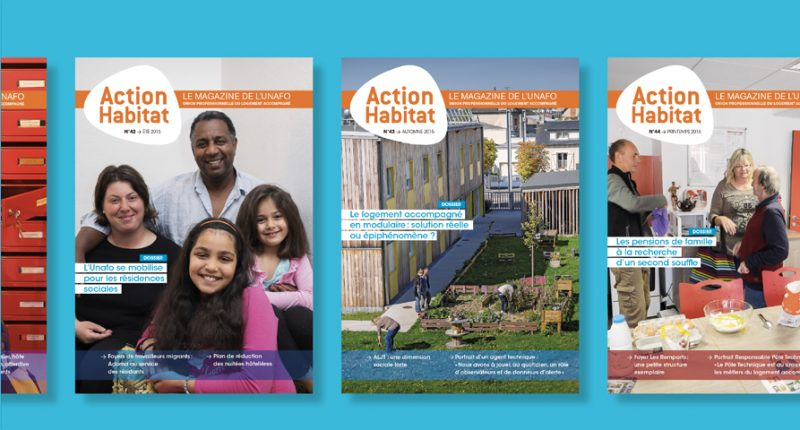 Edition - Unafo - Magazines «Action Habitat» 2014-2016