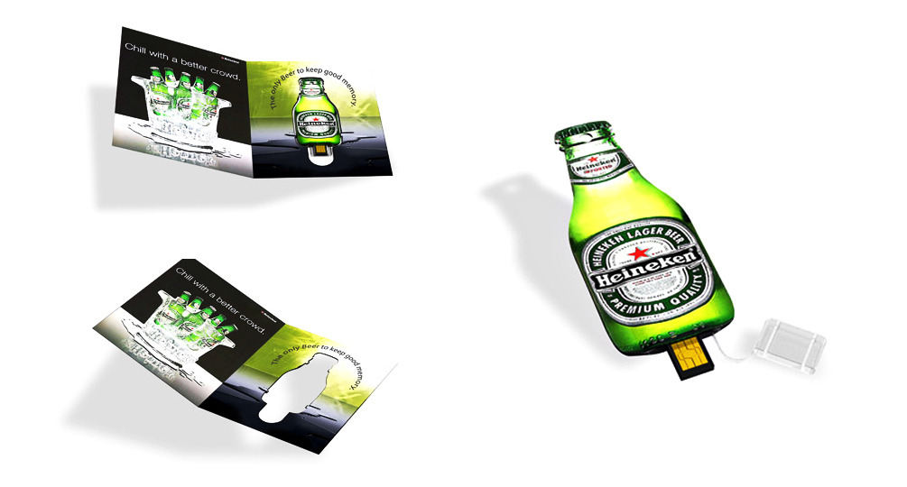 Marketing opérationnel - Heineken - Web Keys / Goodies 2016