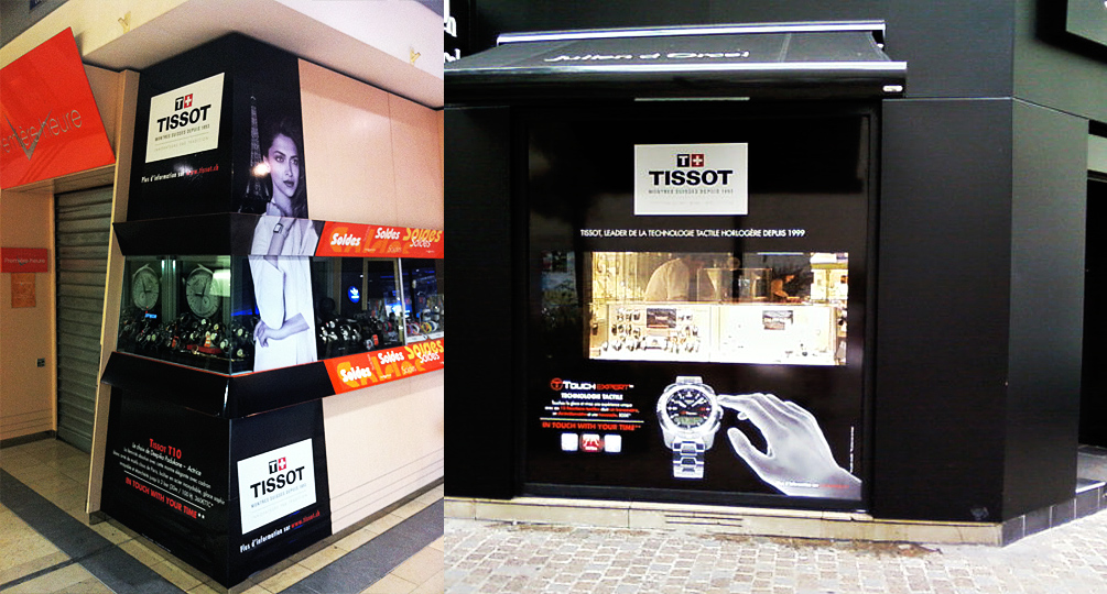 Marketing Opérationnel - Tissot - Vitrines 2016