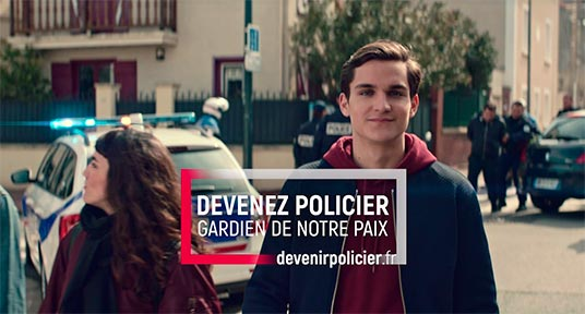 Police nationale - Campagne 2018