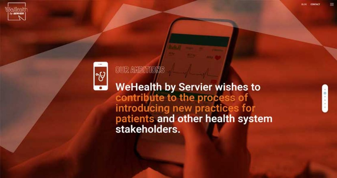 WeHealth by Servier, la e-santé en mode start-up